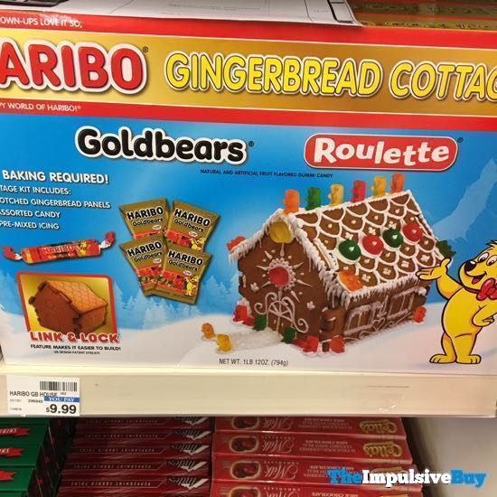 Haribo Gingerbread Cottage