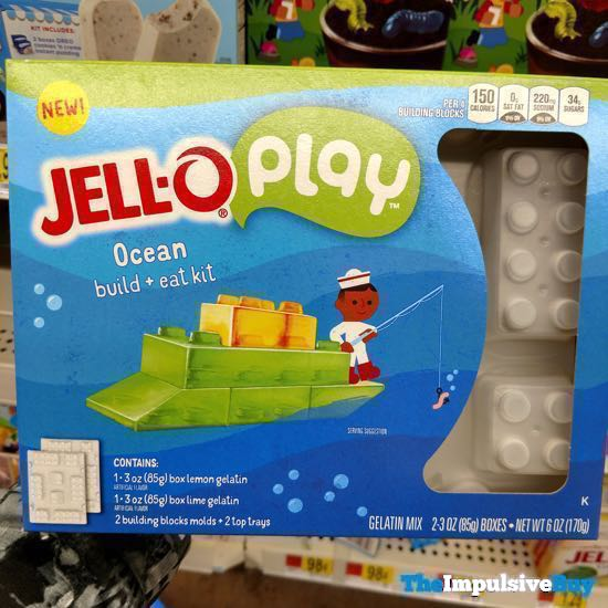 Jello Play Ocean Build + Eat Kit