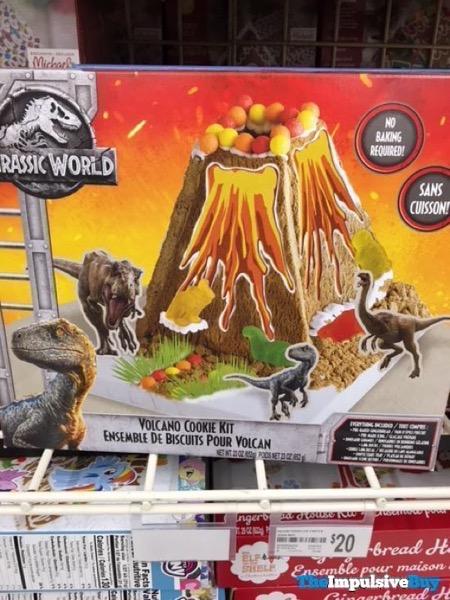 Jurassic World Volcano Cookie Kit