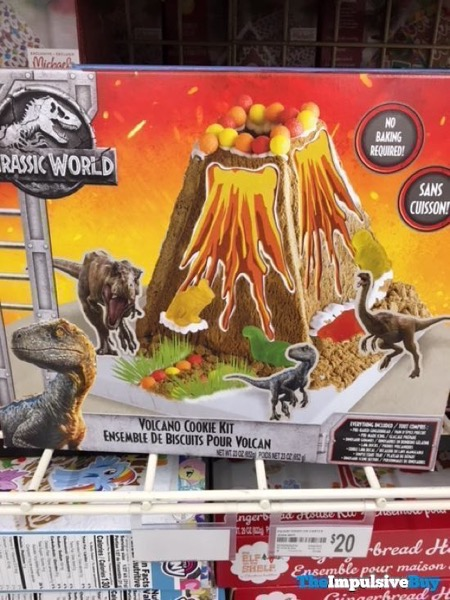 Jurassic World Volcano Cookie Kit