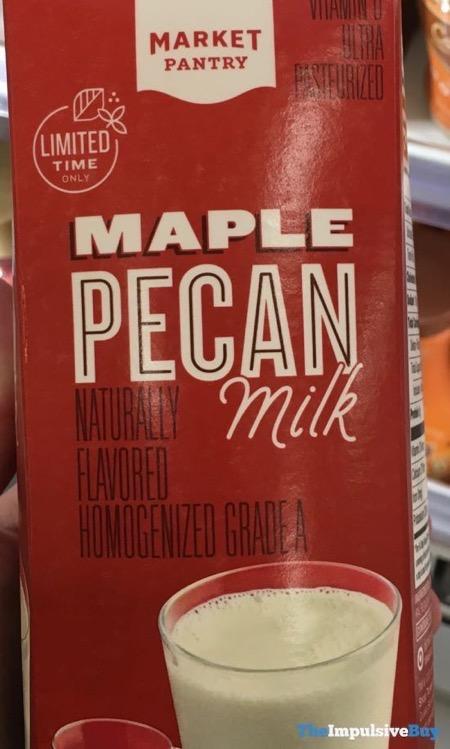 Market Pantry Maple Pecan Milk