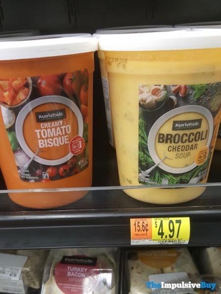 Marketside Soups  Creamy Tomato Bisque and Broccoli Cheddar