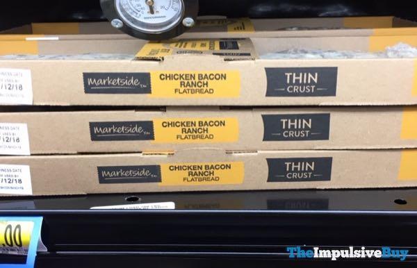 Marketside Thin Crust Chicken Bacon Ranch Flatbread