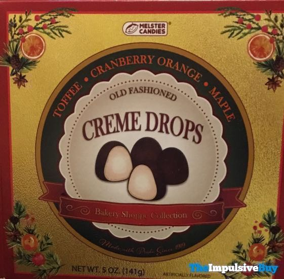 Melster Candies Old Fashioned Creme Drops Bakery Shoppe Collection