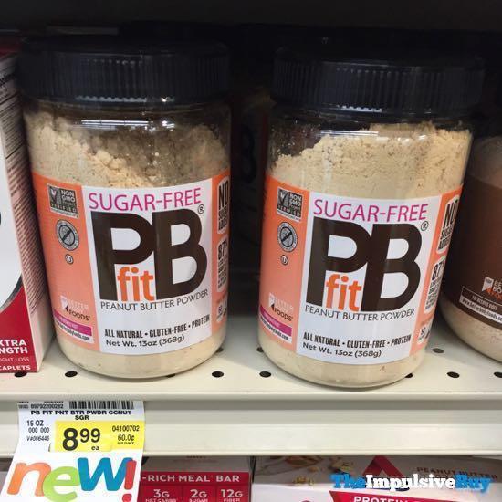 PB Fit Sugar Free Peanut Butter Powder