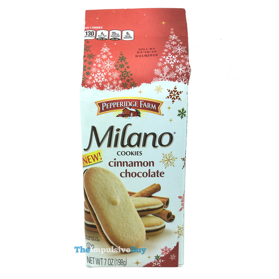 Pepperidge Farm Cinnamon Chocolate Milano Cookies