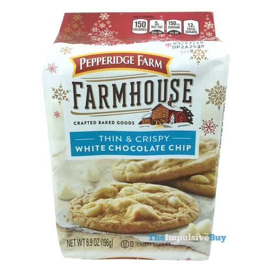 Pepperidge Farm Farmhouse Thin  Crispy White Chocolate Chip Cookies
