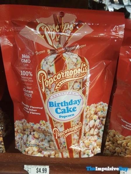 Popcornopolis Birthday Cake Popcorn