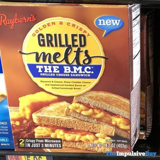 Raybern s Grilled Melts The B M C Grilled Cheese Sandwich