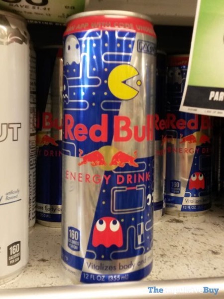 Red Bull Limited Edition Pac Man Design Can