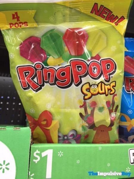 Ring Pop Sours Christmas Design