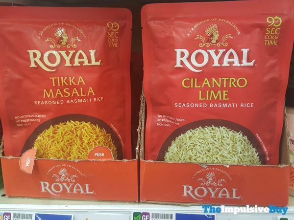 Royal Tikka Masala and Cilantro Lime Seasoned Basmati Rice