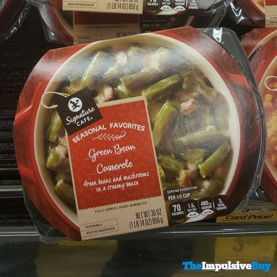 Safeway Signature Cafe Seasonal Favorites Green Bean Casserole 18AYTOM