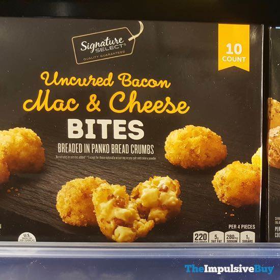 Safeway Signature Select Uncured Bacon Mac  Cheese Bites