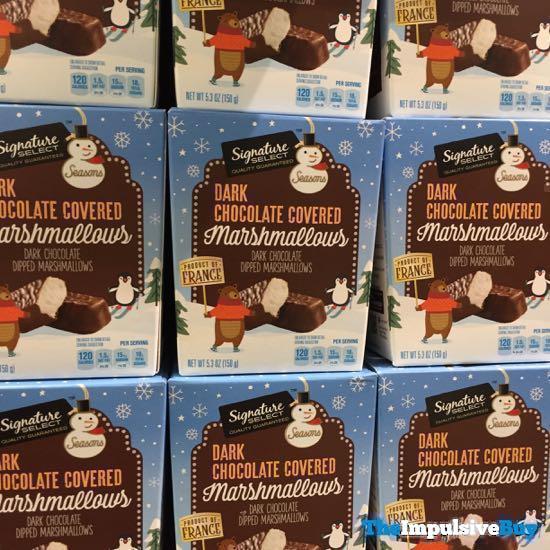Signature Select Dark Chocolate Covered Marshmallows