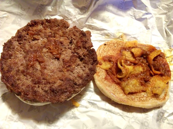 Sonic Fritos Chili Cheese Jr Burger 2