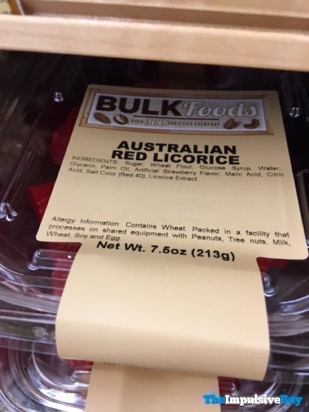 Sprouts Bulk Foods Australian Red Licorice