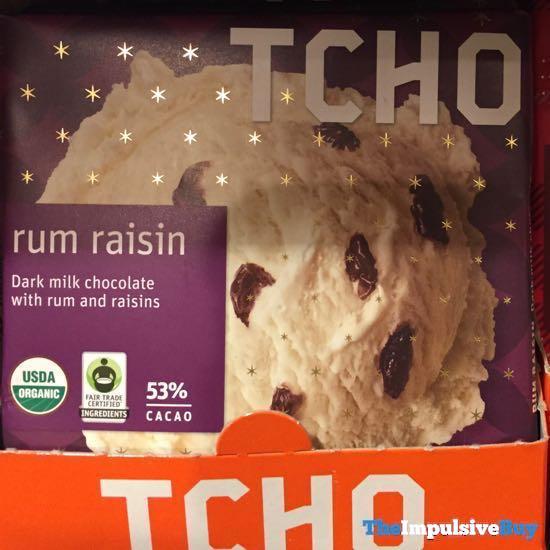 TCHO Rum Raisin Bar