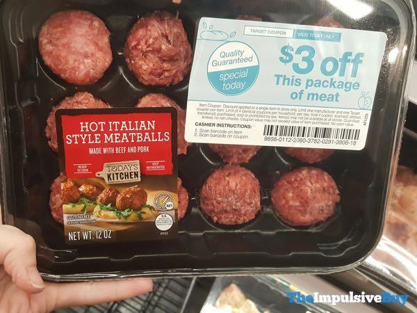 Today s Kitchen Hot Italian Style Meatballs