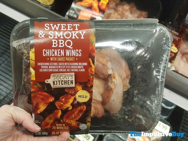 Today s Kitchen Sweet  Smoky BBQ Chicken Wings