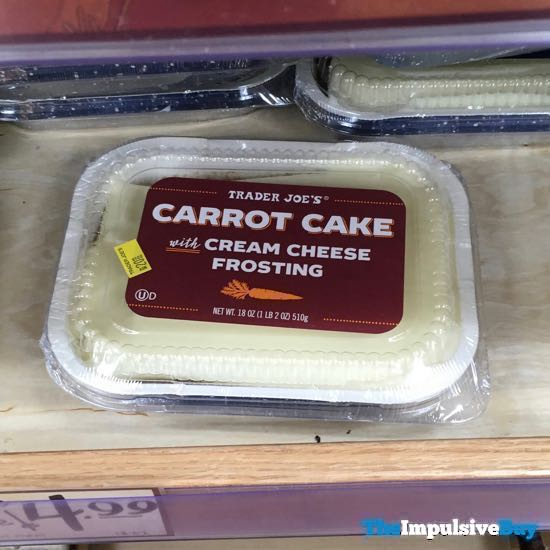 Trader Joe s Carrot Cake with Cream Cheese Frosting