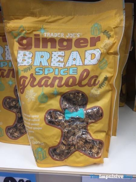 Trader Joe s Gingerbread Spice Granola