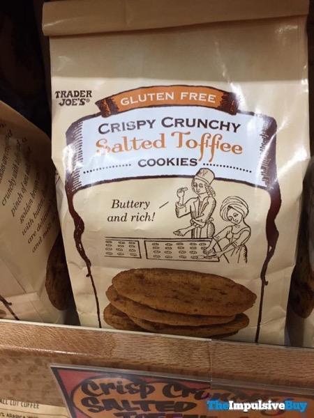 Trader Joe s Gluten Free Crispy Crunchy Salted Toffee Cookies