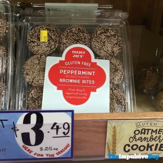 Trader Joe s Gluten Free Peppermint Brownie Bites