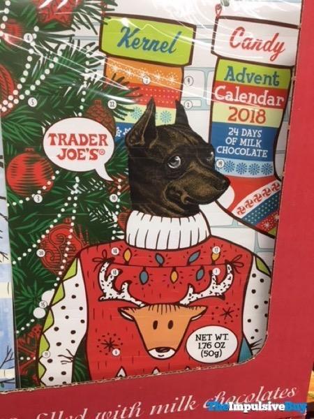 Trader Joe s Kernel Candy Advent Calendar 2018