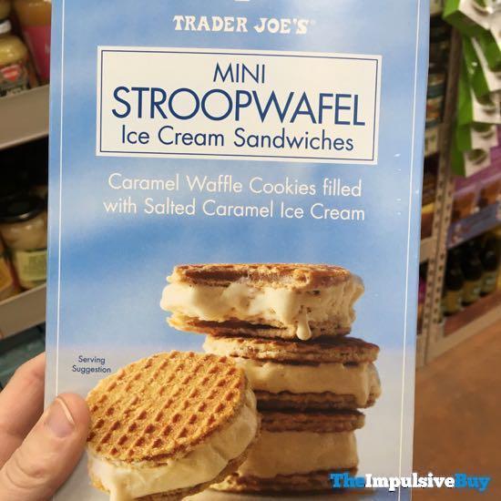 Trader Joe s Mini Stroopwafel Ice Cream Sandwiches