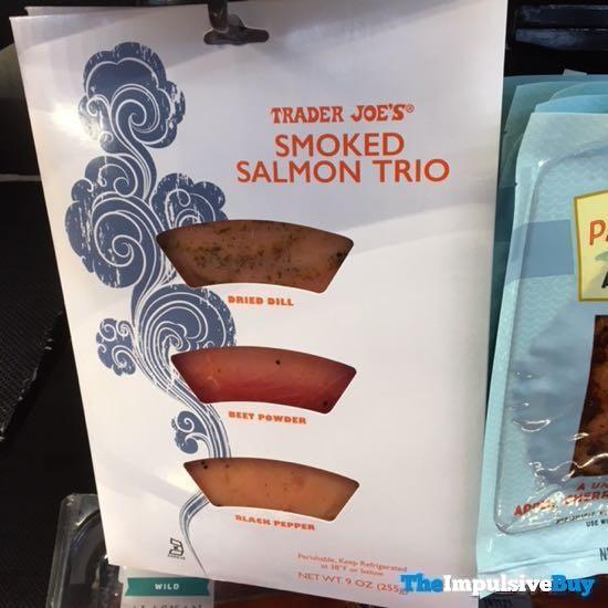 Trader Joe s Smoked Salmon Trio