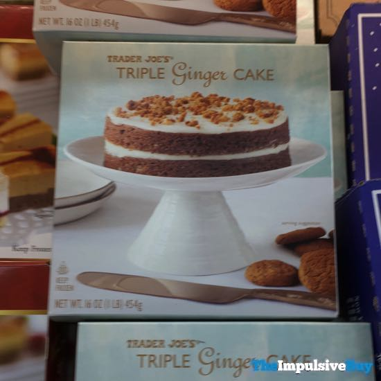 Trader Joe s Triple Ginger Cake