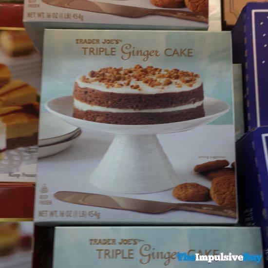 Trader Joe s Triple Ginger Cake