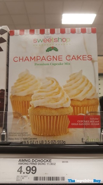 Tylina Sweetshop Champagne Cakes Premium Cupcake Mix