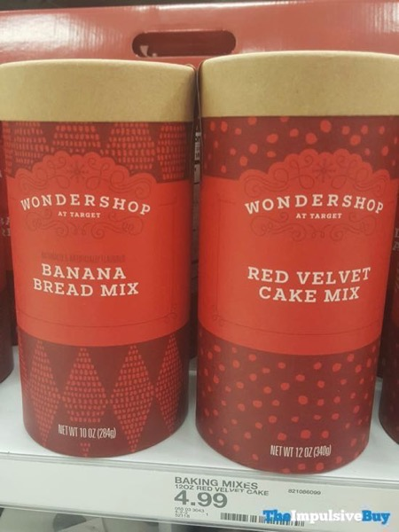 Wondershop at Target Banana Bread Mix and Red Velvet Cake Mix