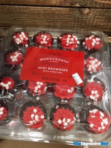 Wondershop at Target Mini Brownies with Frosting