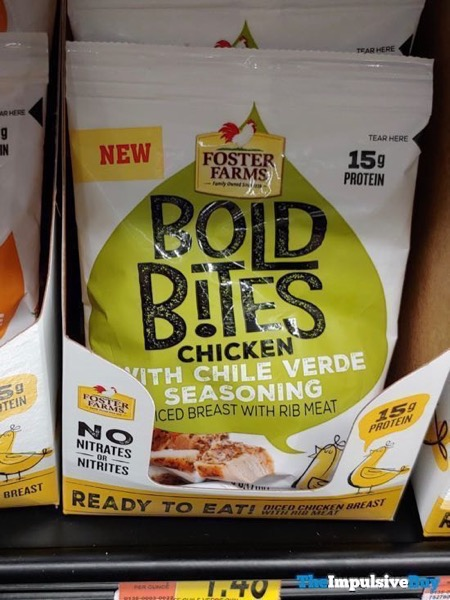 Foster Farms Bold Bites Chicken with Chile Verde Seasoning