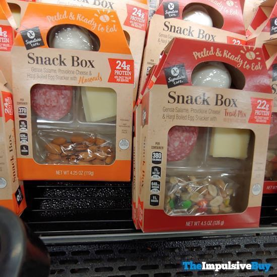 Safeway Signature Cafe Snack Boxes
