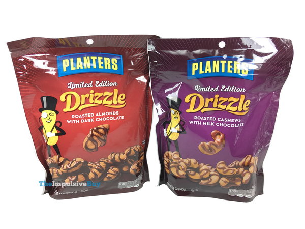Planters Limited Edition Drizzle Roasted Nuts