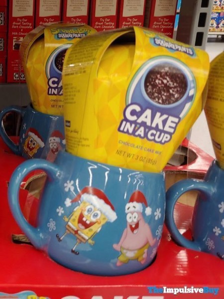 Spongebob Squarepants Chocolate Cake in a Cup