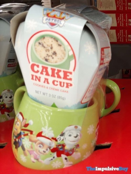 Paw Patrol Cookies  Creme Cake in a Cup