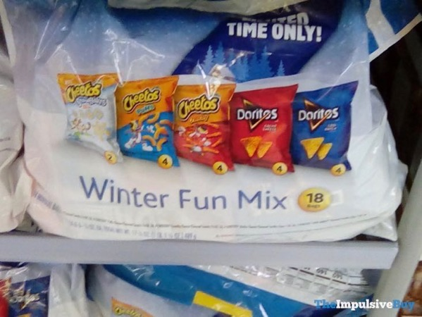 Frito Lay Winter Fun Mix