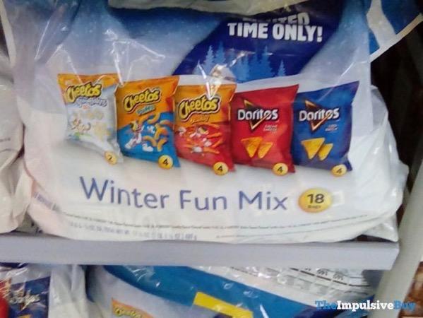 Frito Lay Winter Fun Mix