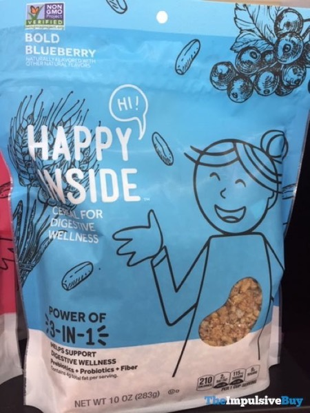 Happy Inside Bold Blueberry Cereal