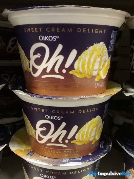 Oikos Oh Double Cream Yogurt Lemon Sweet Cream Delight