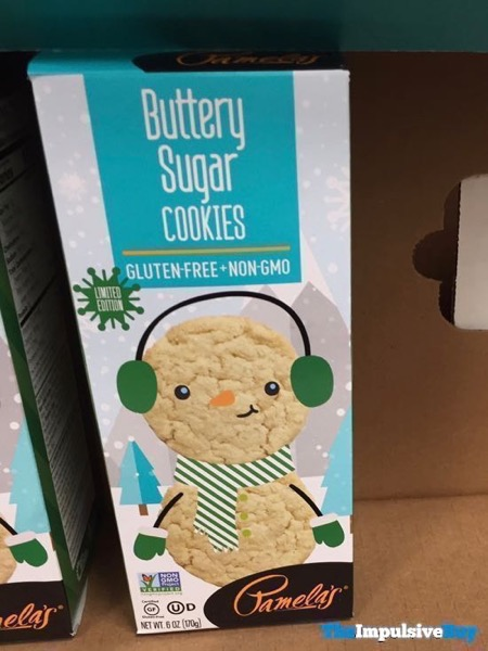 Pamela s Limited Edition Buttery Sugar Cookies