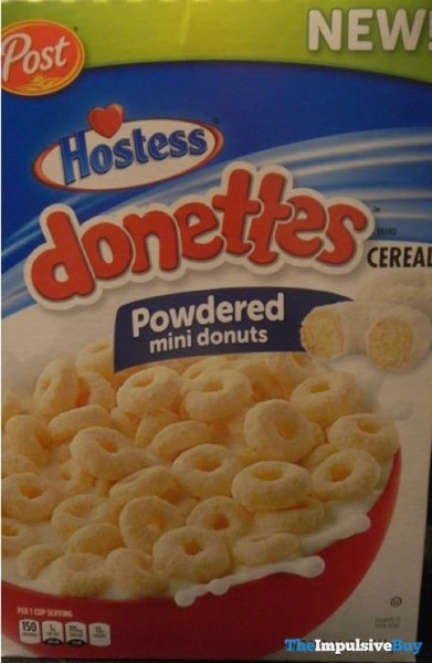 Post Hostess Donettes Cereal