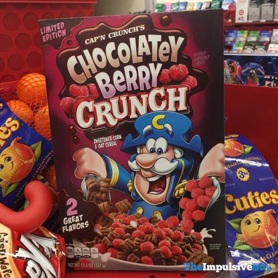 Limited Edition Cap n Crunch s Chocolatey Berry Crunch