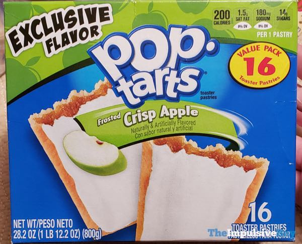 Frosted Crisp Apple Pop Tarts
