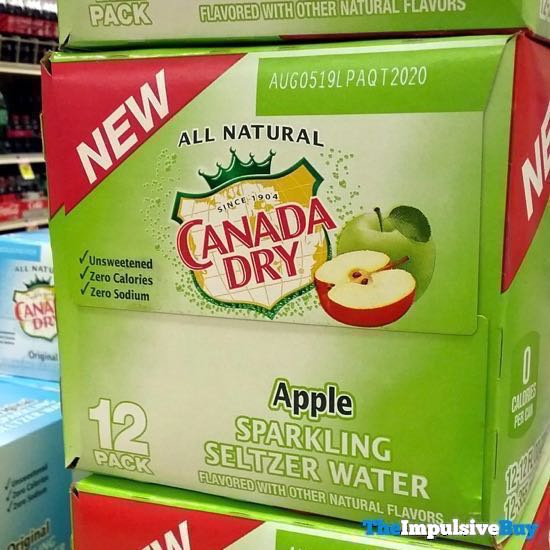 Canada Dry Apple Sparkling Water